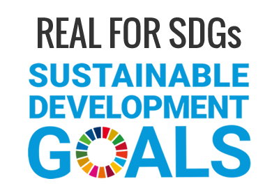 REAL FOR SDGs SUSTAINABLE DEVELOPMENT GOALS